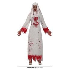 Bloederige Nonnen kostuum Halloween