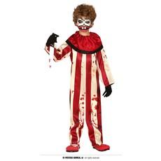 Killer Clown Jumpsuit kind Gestreept