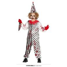 Horror Clown Pierrot Jumpsuit Kind