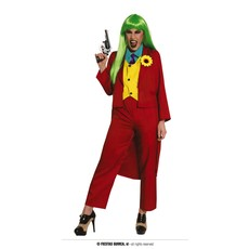 The Joker Kostuum Dames Rood