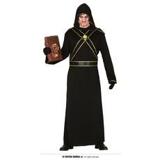 Duistere Tovenaar Kostuum Man Goud/Zwart