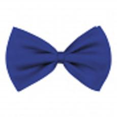 Vlinderstrik basic blauw