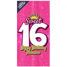 Tissuebox Sweet 16
