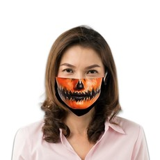 Mondkapje Pompoen Halloween