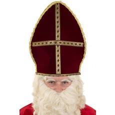 Sint Nicolaas mijter stof