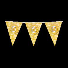 Vlaggenlijn 60 Jaar Getrouwd Goud (10m)