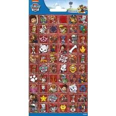 Paw Patrol Stickervel Rood