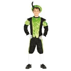 Pietenpak jongen/meisje groen-zwart