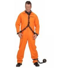 Gevangenis kostuum oranje