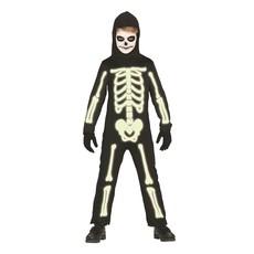 Glow in the dark skeletten pak kind