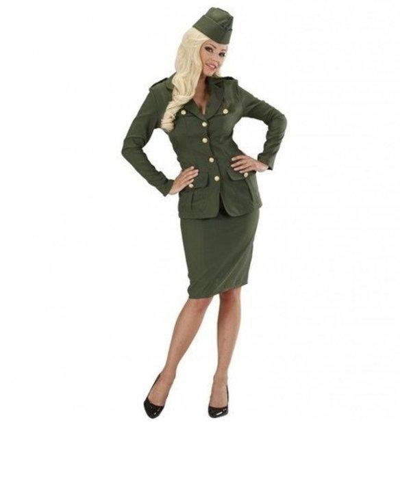 Feestkleding Soldate kostuum 2e wereldoorlog
