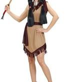 Indiaanse vrouw kostuum Helki