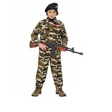 Soldaten kostuum kind