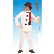 Snowman sneeuwpop kostuum
