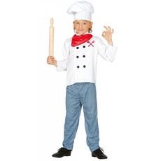 Chef kok kind kostuum