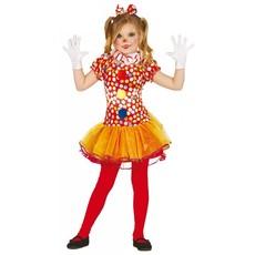 Clown verkleedpakje meisjes