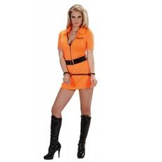 Vrouwelijke gevangene guilty kostuum