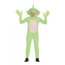 Groene alien kostuum