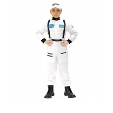 Ruimtevaart pak kind wit