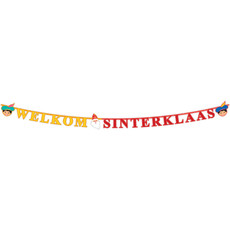 Letterslinger Welkom Sinterklaas (2,3m)