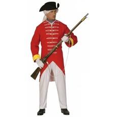 Engelse rode soldaat kostuum