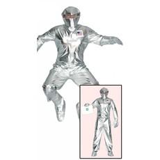 Amerikaanse Astronaut kostuum zilver