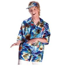 Hawaii blouse met klep