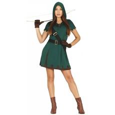 Groen Robin Hood Kostuum Vrouw