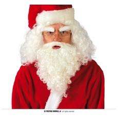 Kerstman Pruik Met Baard Kort