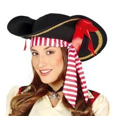 Piratenhoed vrouw