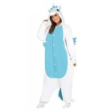 Onesie Unicorn Pyjama Vrouw - Blauw