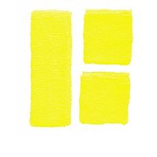 80's zweetband set geel