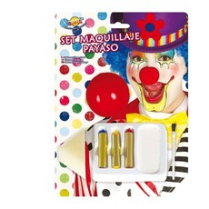 Clown set make up + neus