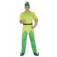 Peter Pan kostuum man