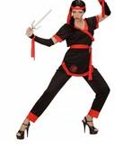 Ninja kostuum vrouw