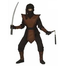 Bruine Ninja pak kind