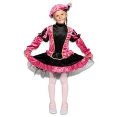 Pietenjurkje kind Roze/Zwart met petticoat