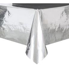 Tafelkleed Folie Zilver - 137 x 274cm