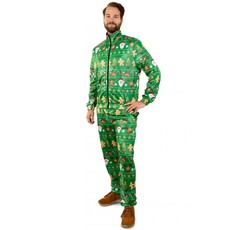 Trainingspak Kerst Groen