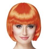 Pruik bobline new look oranje