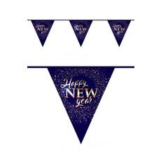 Vlaggenlijn Happy New Year hotstamp 6m