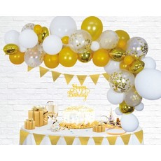 Luxe Ballon Decoratie Set Goud