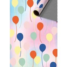 Rol Inpakpapier Pastel Ballonnen