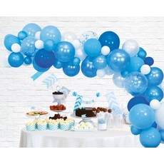 Luxe Ballon Decoratie Set Blauw