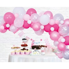 Luxe Ballon Decoratie Set Pink