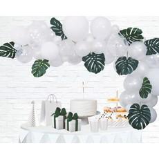Luxe Ballon Decoratie Set Wit