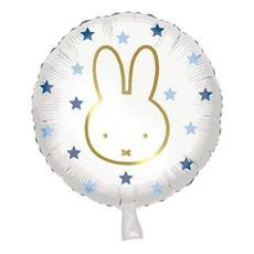Folieballon Nijntje Blauw (45cm)