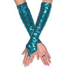 Handschoenen elleboog Zeemeermin