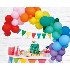 Luxe Ballon Decoratie Set Rainbow