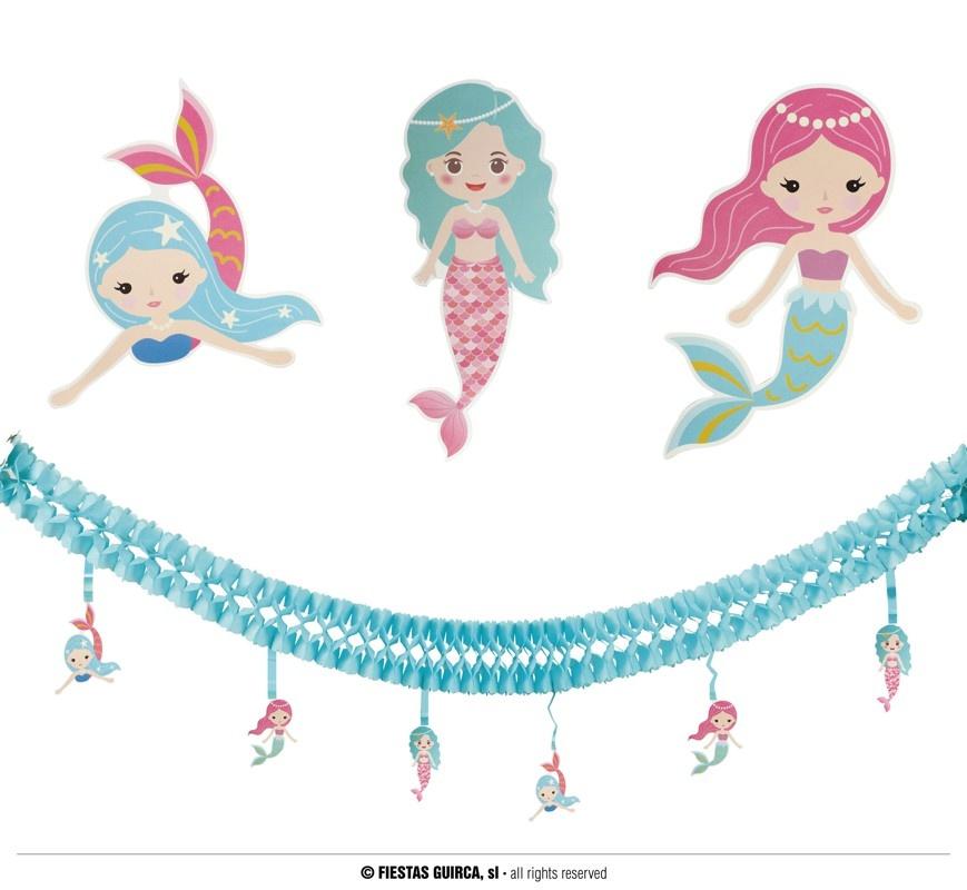 Feestbazaar Zeemeermin Slinger met hangende zeemeerminnen online kopen